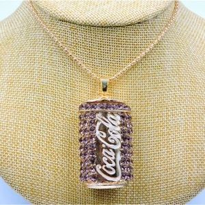 NWT Betsey Johnson Coca-Cola necklace